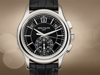 PATEK PHILIPPE - FLYBACK CHRONOGRAPH, ANNUAL CALENDAR.