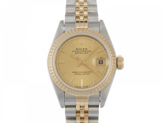 Rolex Datejust Lady Steel & Y Gold Champagne