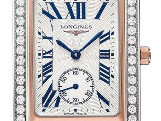 Longines DolceVita Silver Dial & Diamond Men's Watch